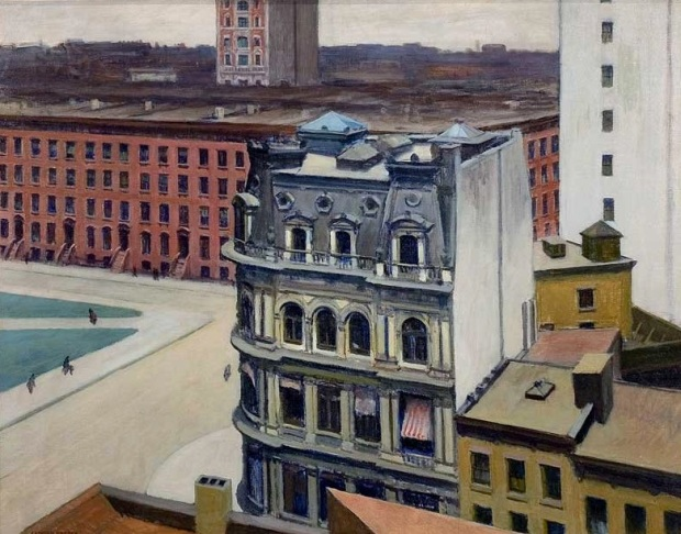 The City, 1927 (© University of Arizona Museum of Art)