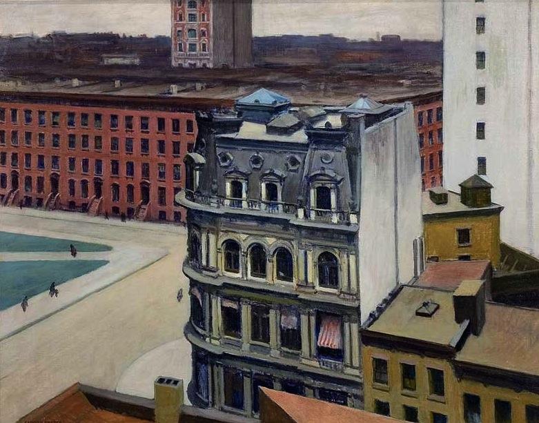 The City, 1927 (© University of Arizona Museum of Art)