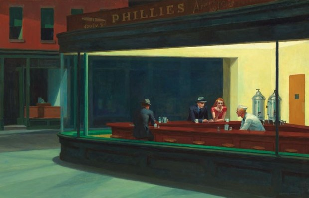 Nighthawks, 1942 (© Art Institute, Chicago)
