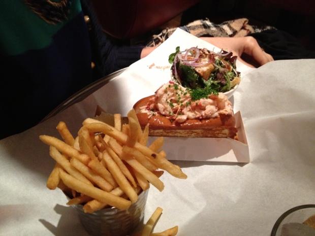 Shanaz's lobster roll