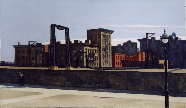 Manhattan Bridge Loop, 1928 (© Addison Gallery of American Art)