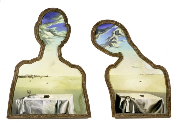 A couple with clouds in their heads (1936)