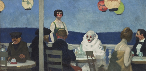 An early work - Soir Bleu, 1914 (© Whitney Museum of American Art)