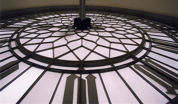 The famous clock face (Parliamentary copyright images are reproduced with the permission of Parliament)