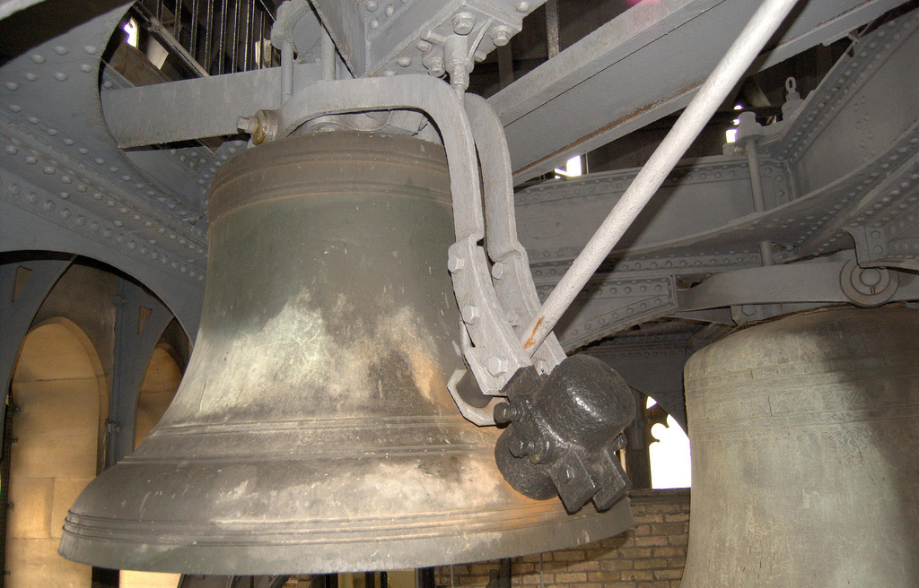 A quarter bell (Parliamentary copyright images are reproduced with the permission of Parliament)