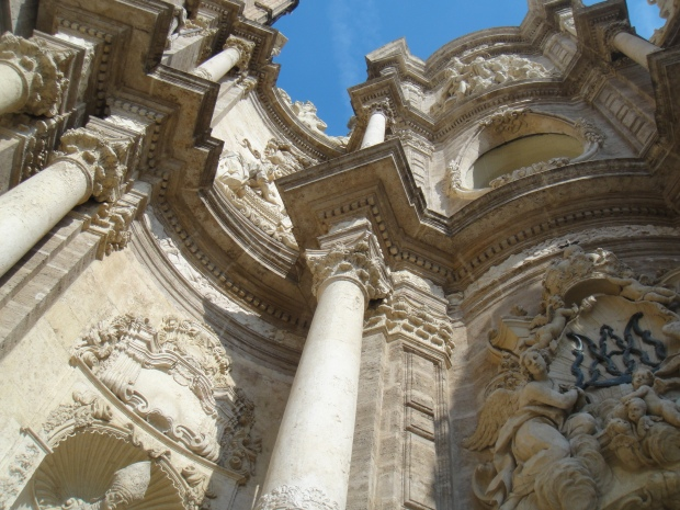 and its baroque facade