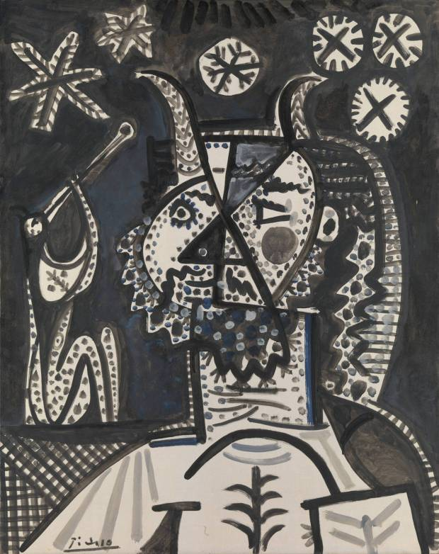 Faun with stars (1955, the Metropolitan Museum of Art, NY)