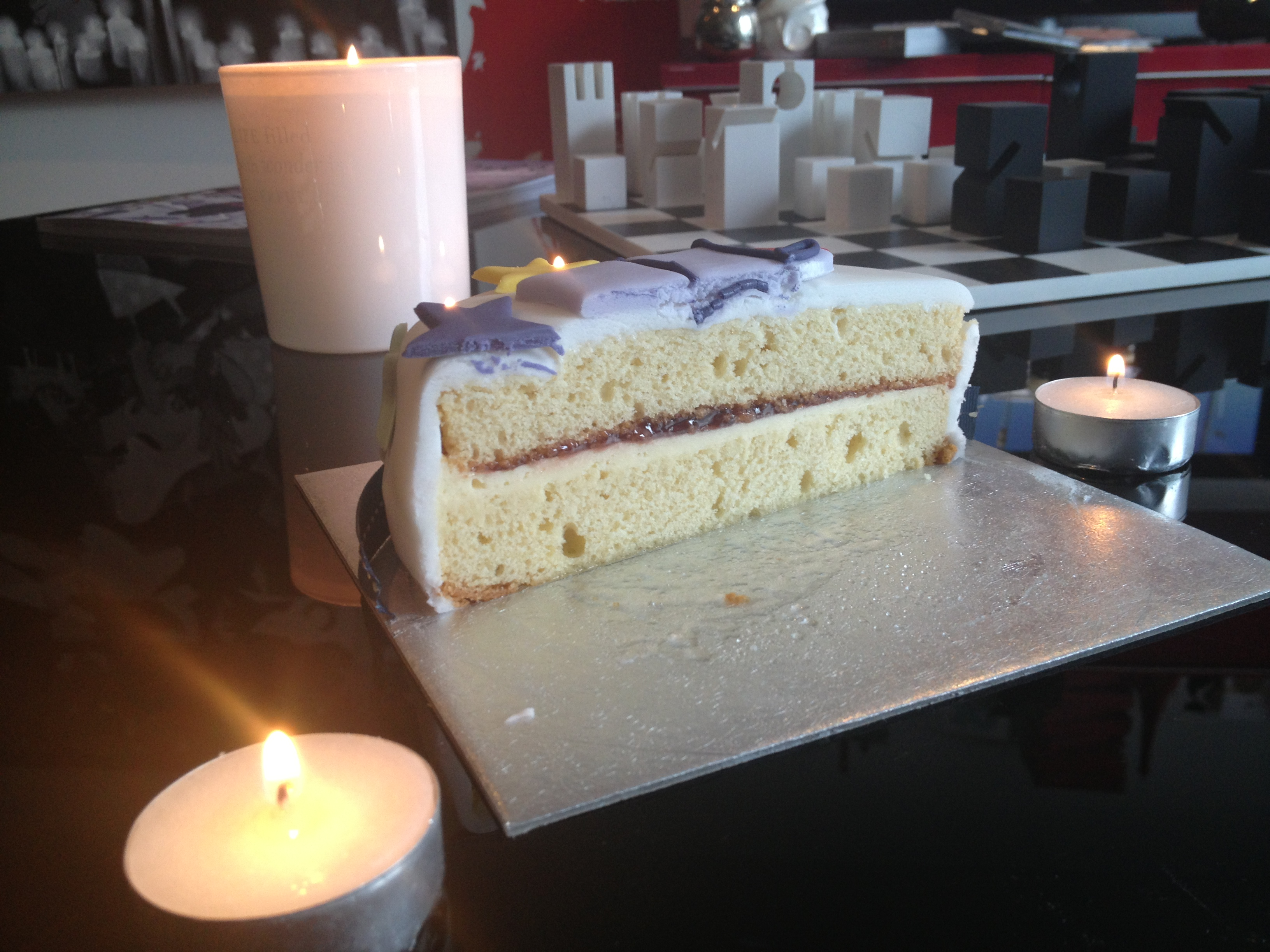 My Half Birthday Cake
