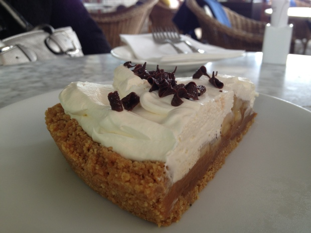 Cappuccino's Tarta de Platano is to die for...