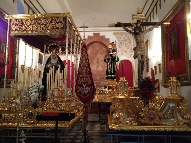 Tronos ready for Semana Santa