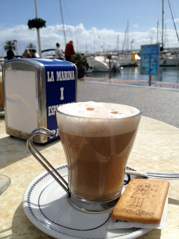 Coffee by the Marina
