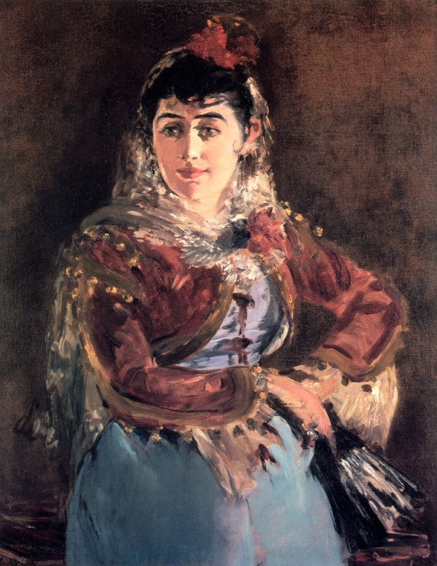 Spanish influence: Emilie Ambre as Carmen (1880)