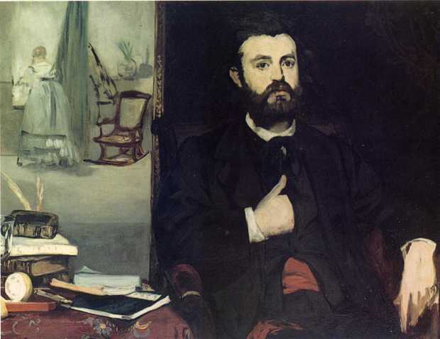 Portrait of Zacharie Astruc (1866)