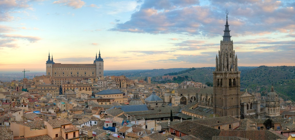 The beautiful city of Toledo