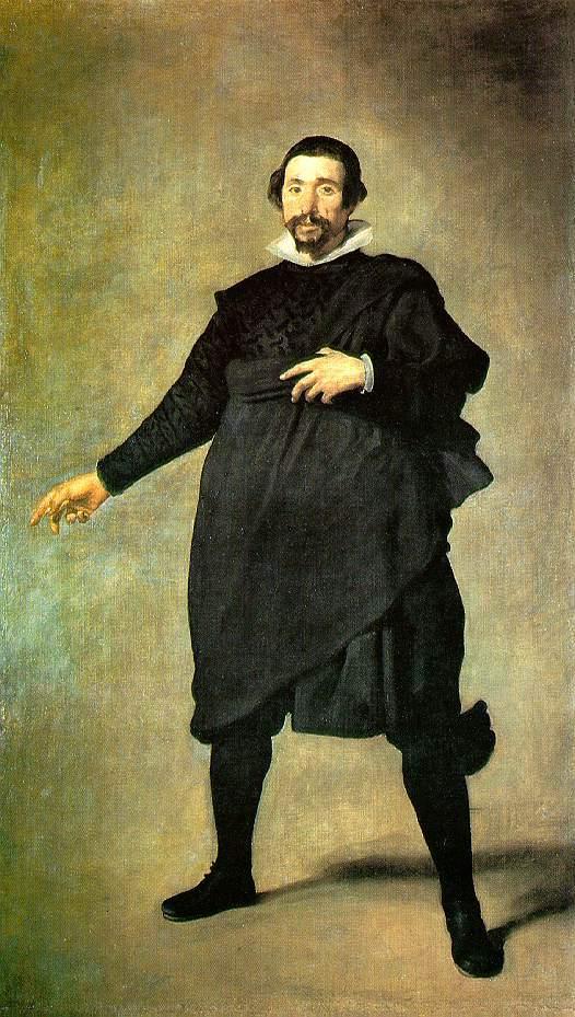 Diego Velazquez, The Jester Pablo de Valladoid (1635)