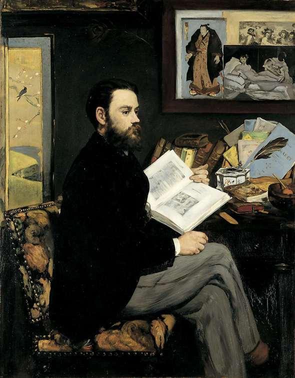 Emile Zola (1868)
