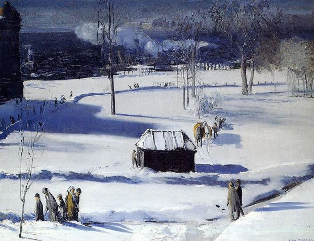 Blue Snow the Battery (1910)