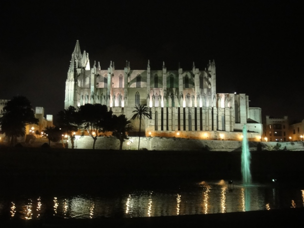 La Seu by night