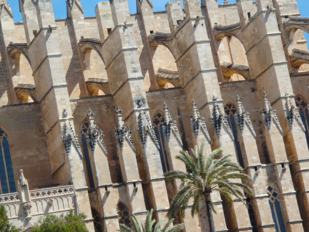 Stunning gothic details make La Seu particularly distinctive