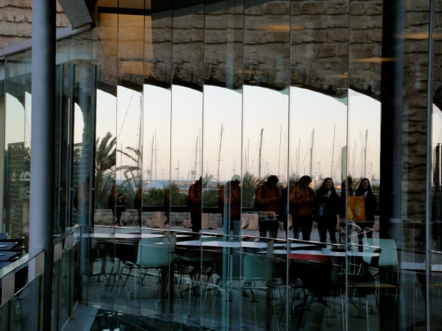 Es Baluard's contemporary glass