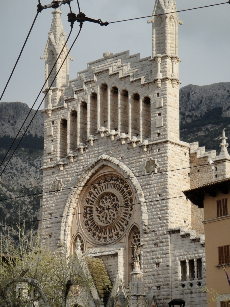 The church in Soller