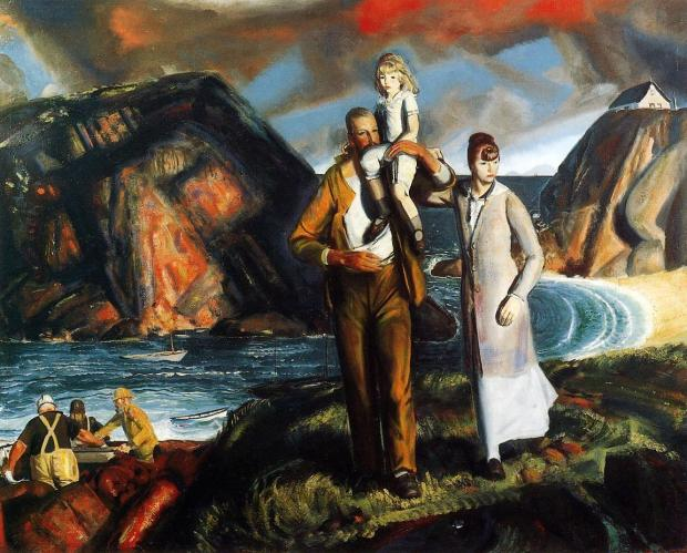 A Fisherman's Family (1923)
