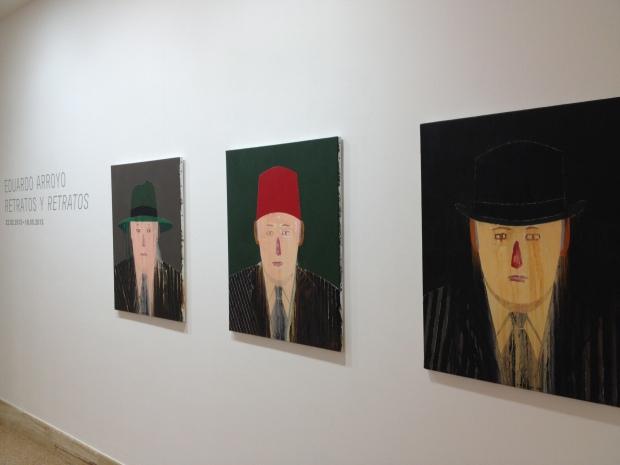 The Eduardo Arroyo exhibition