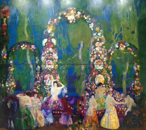 Anglada-Camarasa's vast work, Valencia (1910)
