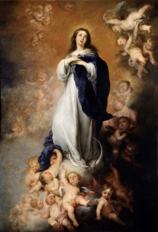 Murillo, Inmaculada Concepcion de los Venerables (1678)