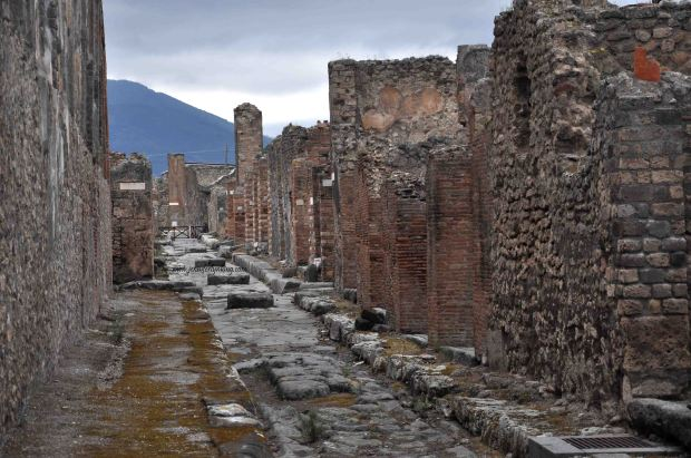 Pompeii today