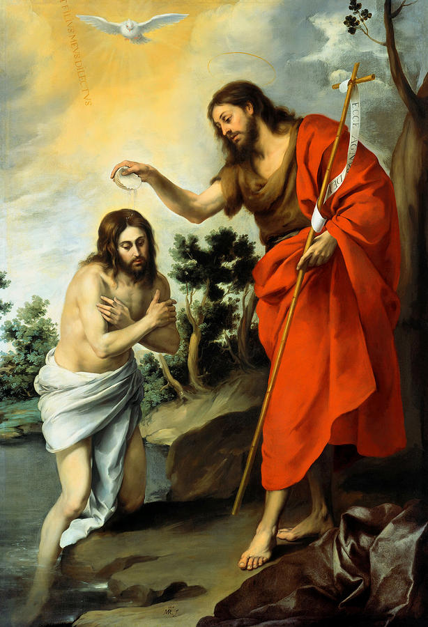 Murillo, The Baptism of Christ (1967-8)