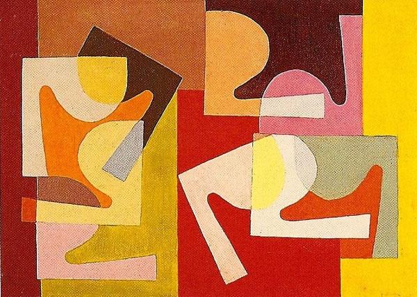 Fractional Module (1947-51) © Saloua Raouda Choucair Foundation