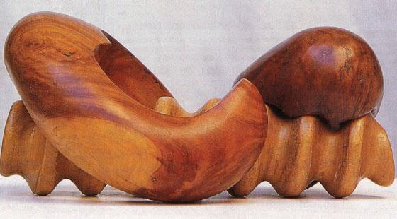 The screw (1975-7) © Saloua Raouda Choucair Foundation
