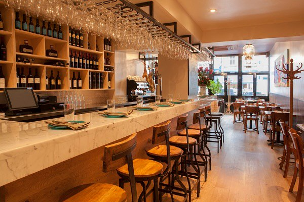 Rosita's sherry bar