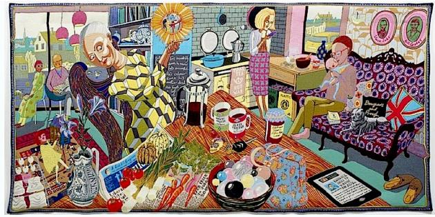 The Annunciation of the Virgin Deal  © Grayson Perry