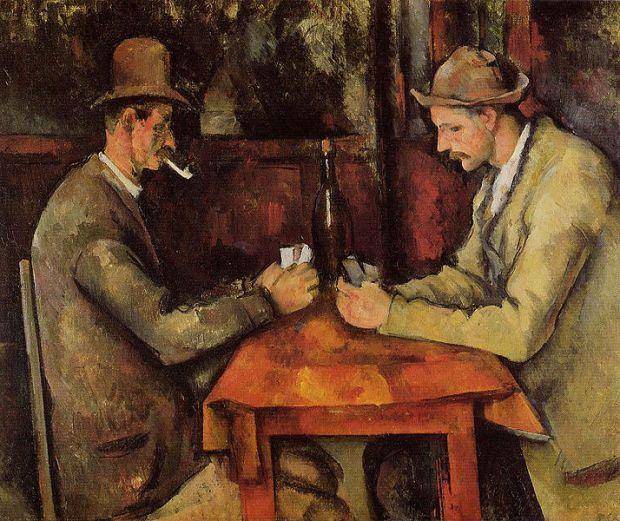 "The d""Orsay Card Players"