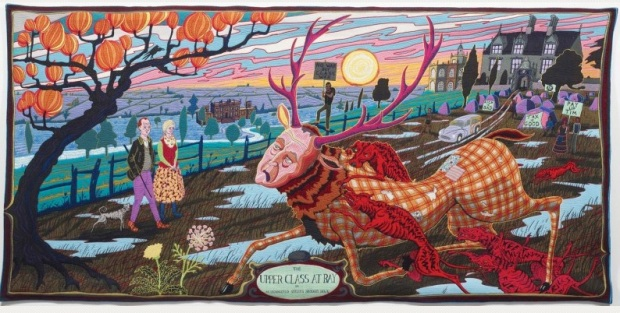 The Upper Class at Bay  © Grayson Perry