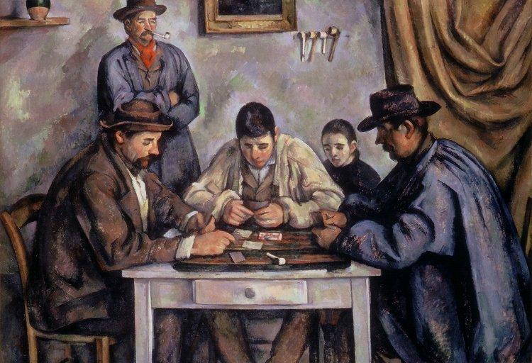 Card Players at the Barnes Foundation, Philadelphia, Pennsylvania