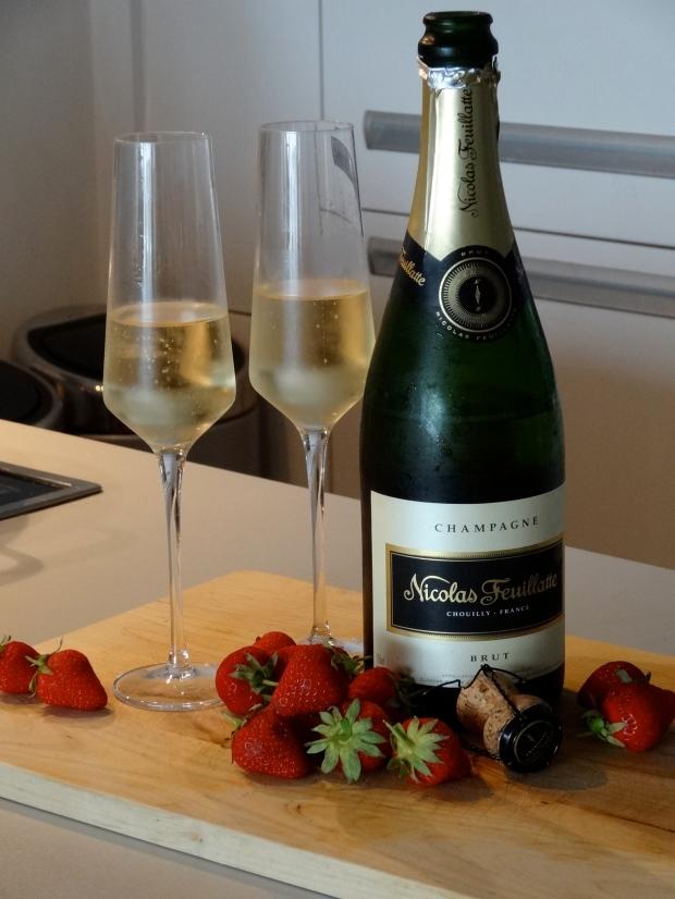 Anniversary champagne