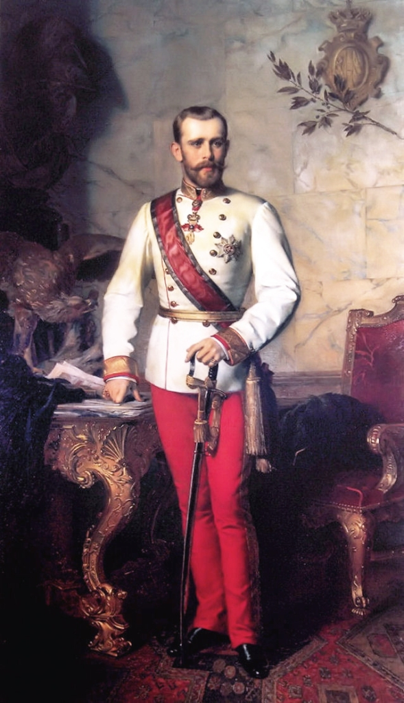 And a dashing portrait of the real Crown Prince for all you history buffs