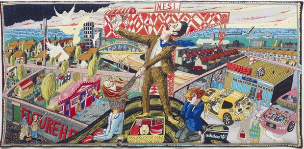 The Agony in the Car Park  © Grayson Perry
