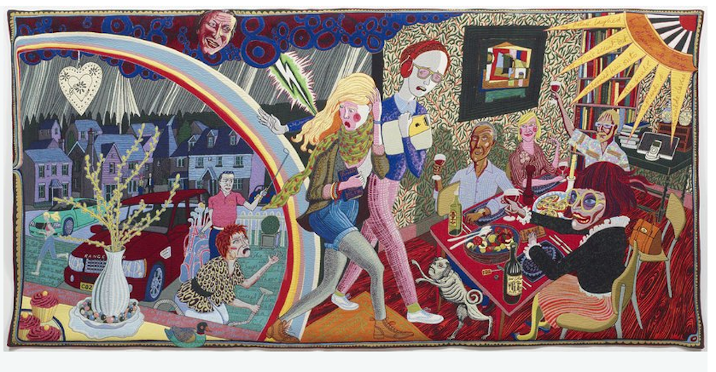 Expulsion from Number 8 Eden Close  © Grayson Perry