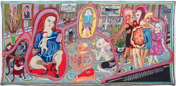 The Adoration of the Cage Fighters © Grayson Perry