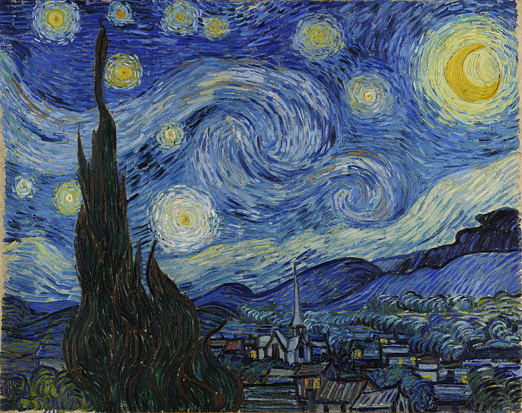 Onto Saint Remy - where Van Gogh painted: The Starry Night (1888)