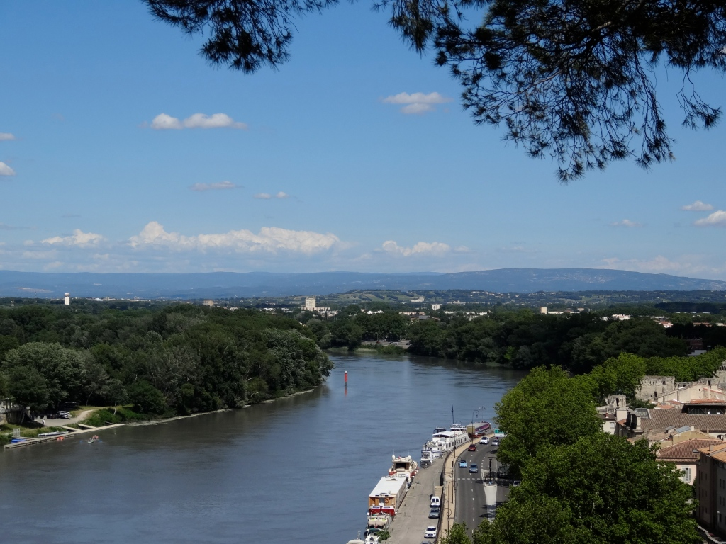 and the Rhone