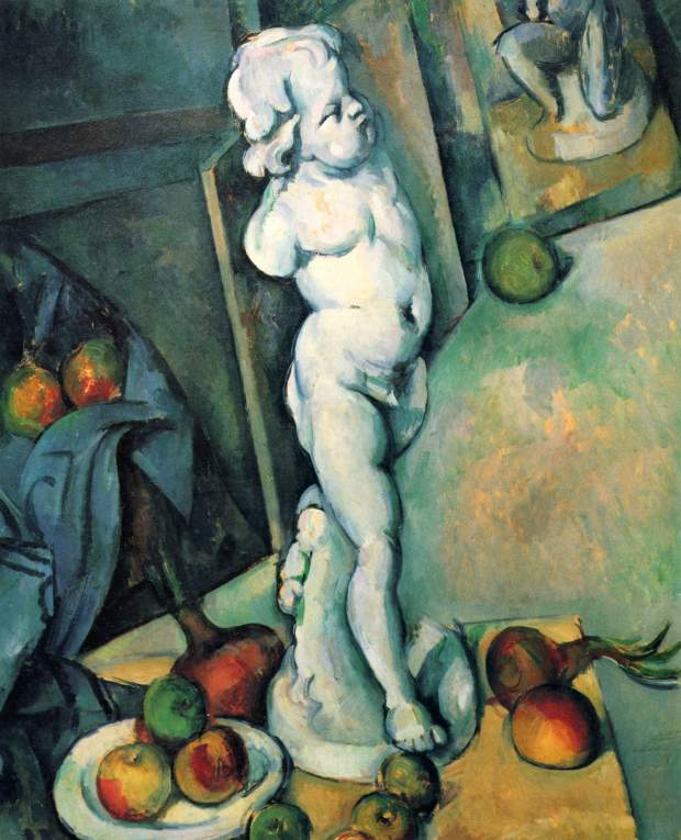 Still Life with Cherub (1895)