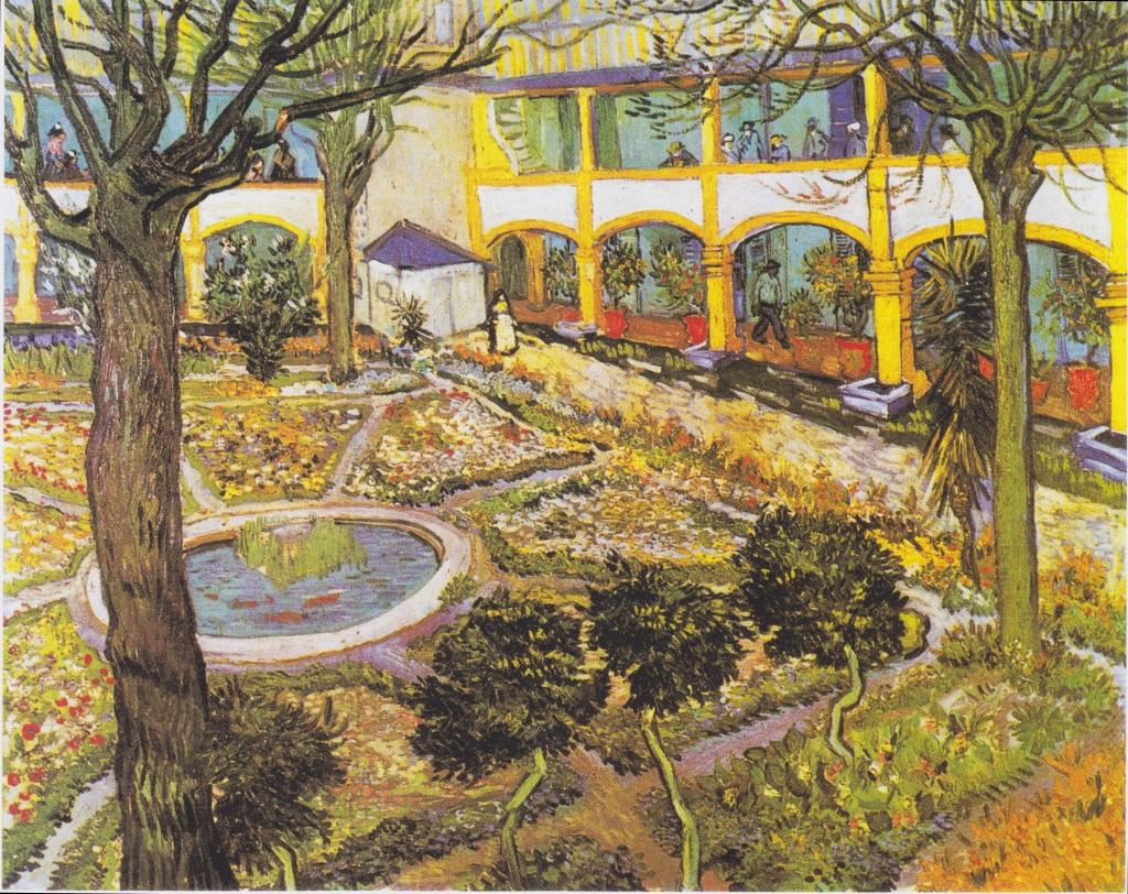 Garden of the Hospital at Arles (1888)