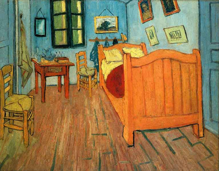 Bedroom in Arles (1888)