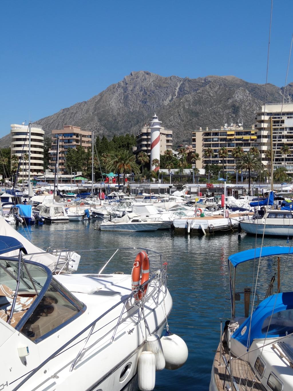 Marbella's port