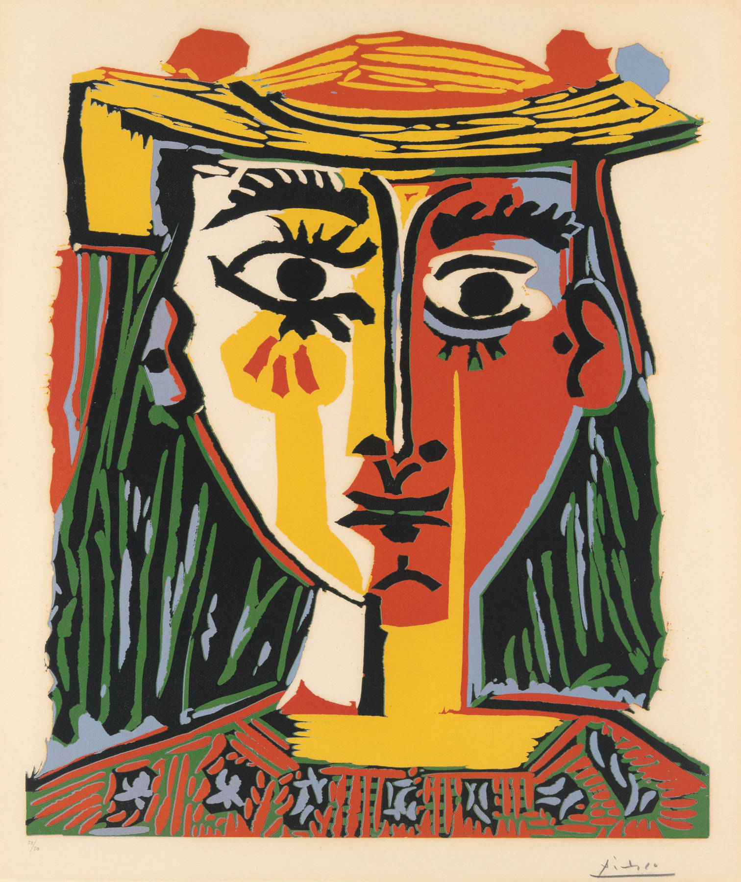 Picasso Cubist Faces To do with picasso at all